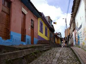 Candelaria, the Historic District, Bogota, Colombia, South America by Ethel Davies