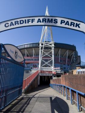 Cardiff Millennium Stadium at Cardiff Arms Park, Cardiff, Wales, United Kingdom, Europe by Ethel Davies