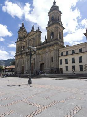 Cathedral at Plaza Bolivar, Bogota, Colombia, South America by Ethel Davies