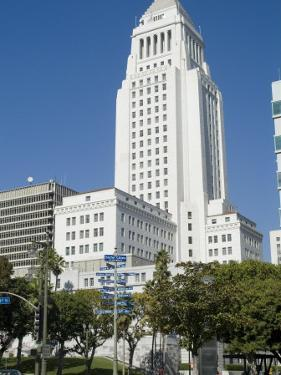 City Hall, Downtown, Los Angeles, California, USA by Ethel Davies
