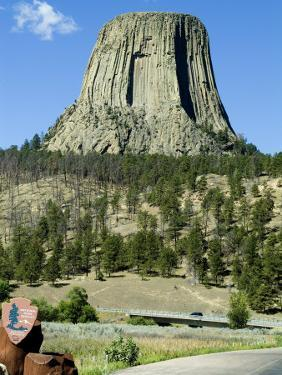 Devil's Tower National Monument, Wyoming, USA by Ethel Davies