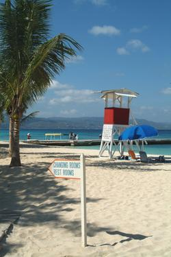 Doctor's Cave Beach, Montego Bay, Jamaica, West Indies, Caribbean, Central America by Ethel Davies