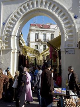 Gateway to the Medina, Tangiers, Morocco, North Africa, Africa by Ethel Davies