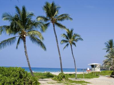 Hapuna Beach, Island of Hawaii (Big Island), Hawaii, USA by Ethel Davies