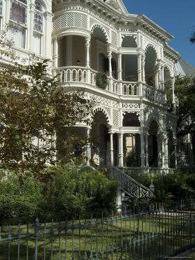 Historic District, Galveston, Texas, USA by Ethel Davies