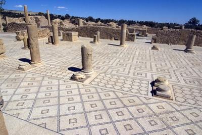 Large Baths, Roman Ruin of Sbeitla, Tunisia, North Africa, Africa by Ethel Davies
