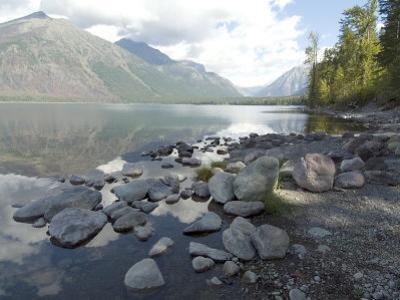 Mcdonald Lake, Glacier National Park, Montana, USA by Ethel Davies
