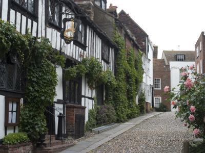 Mermaid Inn, Mermaid Street, Rye, Sussex, England, United Kingdom, Europe by Ethel Davies