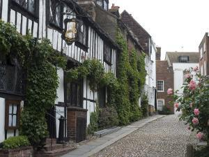 Mermaid Inn, Mermaid Street, Rye, Sussex, England, United Kingdom, Europe by Ethel Davies