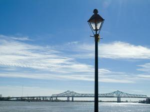 Mississippi River, New Orleans, Louisiana, USA by Ethel Davies