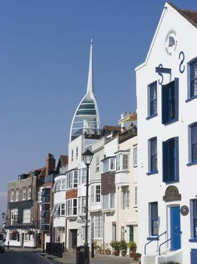 Old Portsmouth with the Spinnaker Tower Behind, Portsmouth, Hampshire, England, UK, Europe by Ethel Davies