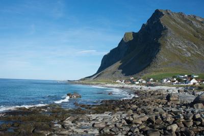 Overlooking Vikten, Lofoten Islands, Nordland, Norway, Scandinavia, Europe by Ethel Davies