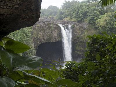 Rainbow Falls, Near Hilo, Island of Hawaii (Big Island), Hawaii, USA
