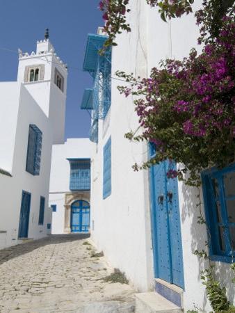 Sidi Bou Said, Tunisia, North Africa, Africa by Ethel Davies