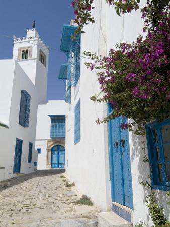 Sidi Bou Said, Tunisia, North Africa, Africa by Ethel Davies