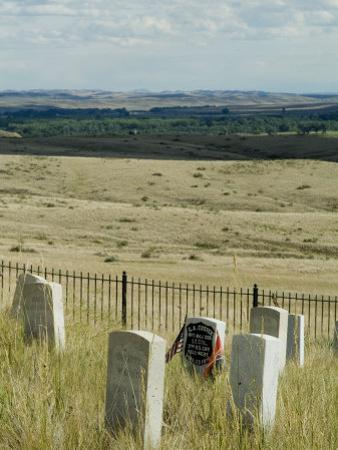 Site of Massacre, Including Where Custer Fell, Little Big Horn, Montana, USA by Ethel Davies
