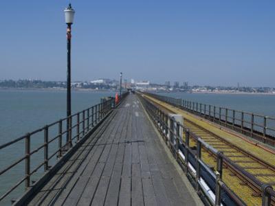 Southend Pier, Southend-On-Sea, Essex, England, United Kingdom, Europe by Ethel Davies