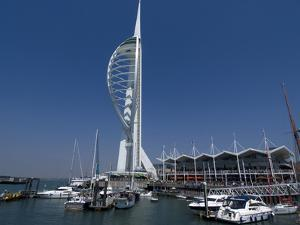 Spinnaker Tower from Gunwharf, Portsmouth, Hampshire, England, United Kingdom, Europe by Ethel Davies