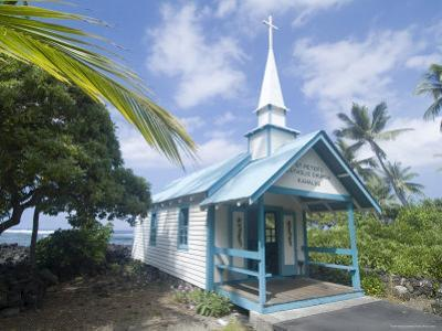 St. Peter's Catholic Church, Near Kailua-Kona, Island of Hawaii (Big Island), Hawaii, USA by Ethel Davies