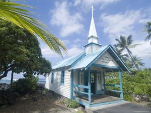 St. Peter's Catholic Church, Near Kailua-Kona, Island of Hawaii (Big Island), Hawaii, USA by Ethel Davies