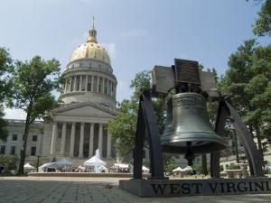 State Capitol, Charleston, West Virginia, USA by Ethel Davies