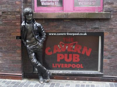 Statue of John Lennon Close to the Original Cavern Club, Matthew Street by Ethel Davies