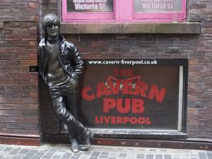 Statue of John Lennon Close to the Original Cavern Club, Matthew Street by Ethel Davies