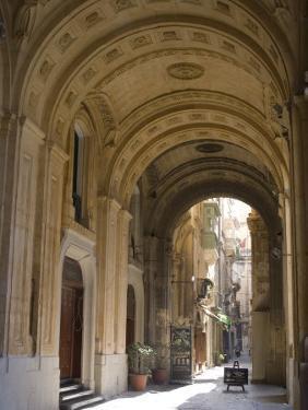 Street Scene, Valletta, Malta, Europe by Ethel Davies