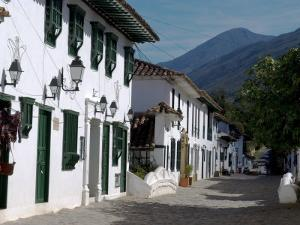 The Colonial Town of Villa De Leyva, Colombia, South America by Ethel Davies