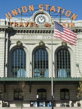 Union Train Station, Denver, Colorado, USA by Ethel Davies