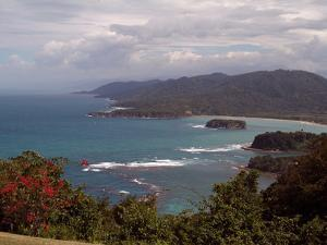 View from Noel Coward's Home, Firefly, Port Maria, Jamaica, West Indies, Caribbean, Central America by Ethel Davies