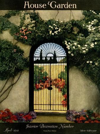 House & Garden Cover - April 1921