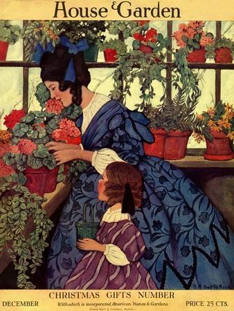 House & Garden Cover - December 1915