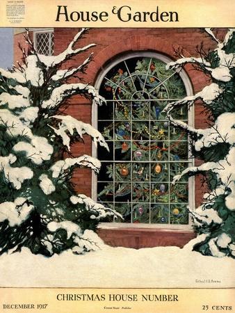 House & Garden Cover - December 1917