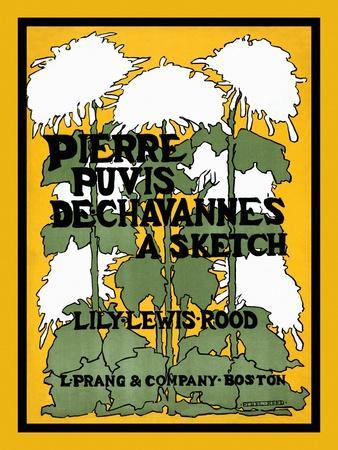 Pierre Puvis De Chavannes, a Sketch, Lily Lewis Rood