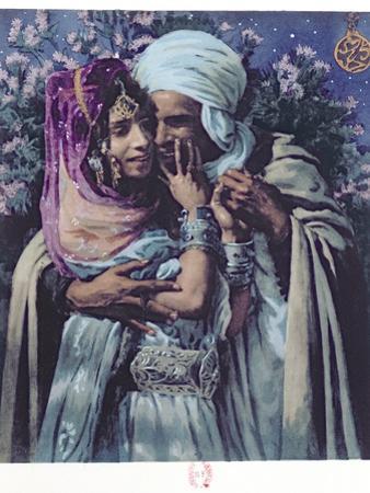 Slave to Love by Etienne Alphonse Dinet