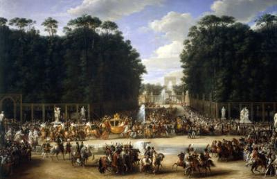 Napoleon and Marie Louise at the Tuileries