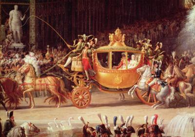 The Entry of Napoleon and Marie-Louise into the Tuileries Gardens on the Day of their Wedding