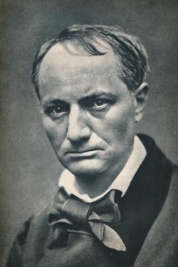 'Charles Baudelaire', 1863, (1939) by Etienne Carjat
