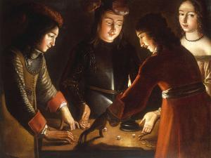 The Dice Players by Etienne de La Tour