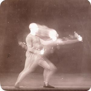 Chronophotograph of Movements of a Boxer, C.1890 by Etienne Jules Marey