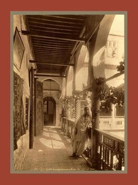 Algiers Gallery, a Moorish House by Etienne & Louis Antonin Neurdein