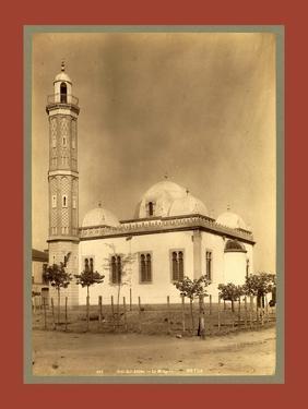 Sidi Bel Abbes Mosque, Algiers by Etienne & Louis Antonin Neurdein