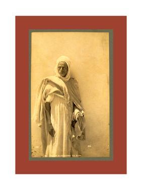 Types Algerians: an Arab by Etienne & Louis Antonin Neurdein