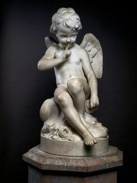 Seated Cupid by Etienne-Maurice Falconet