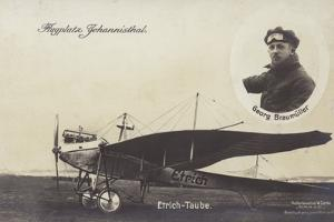 Etrich Taube Aircraft, Johannisthal Airfield, Berlin, Germany