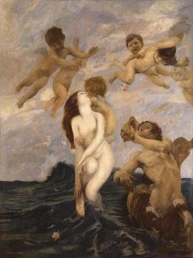 Birth of Venus (Venus Emerges from Waves) by Ettore Tito