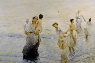 July (On Beach), 1893-1894