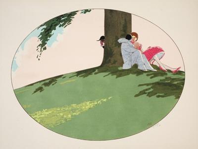 Les Cinq Sens - L'Ouïe, La Vue, L'Odorat, Le Toucher Et Le Goût, Pub. Paris, 1925