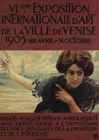 VIieme Exposition Internationalle d'Art de la Ville de Venise